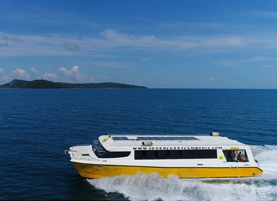 Cambodia Island Speed Ferry