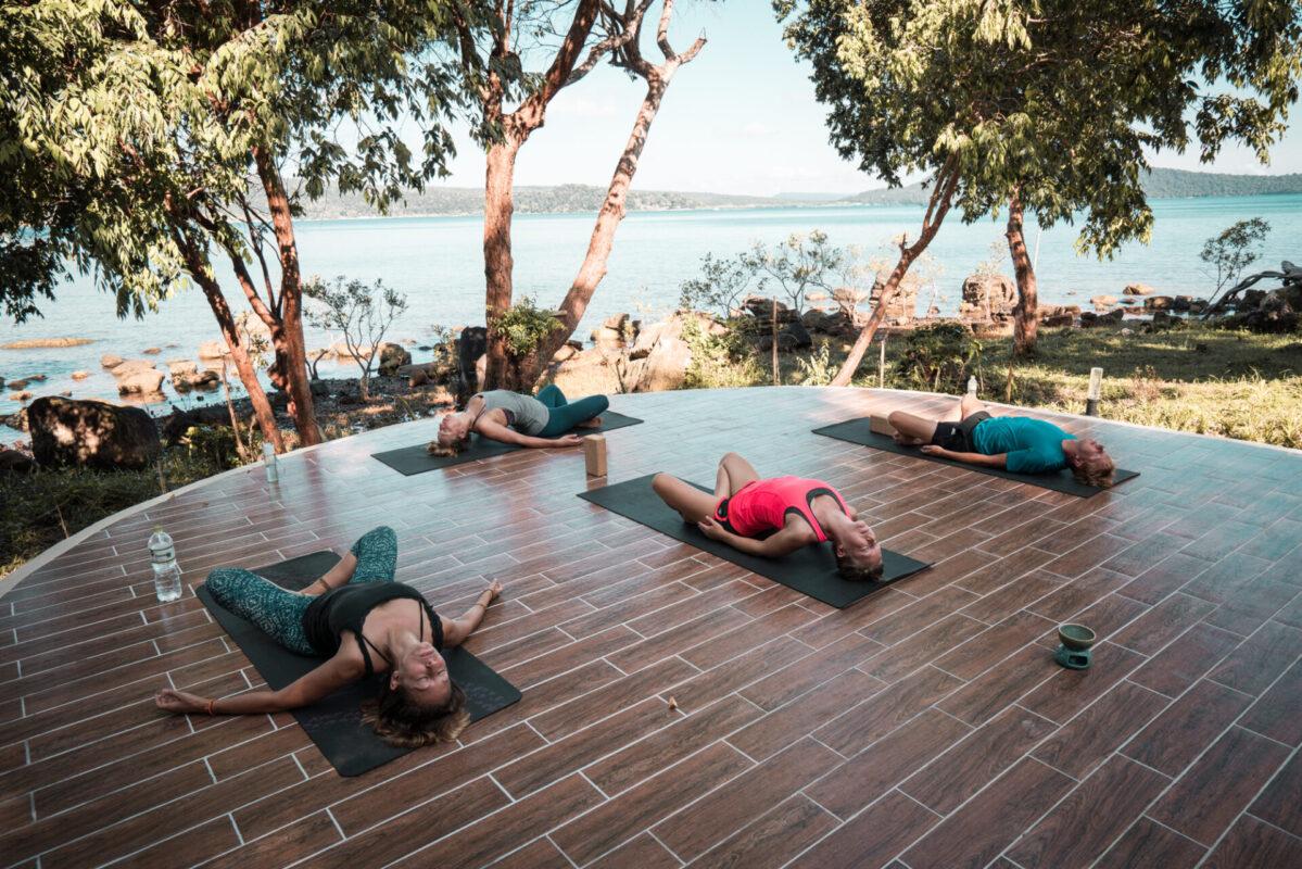 Yoga in Laguna
