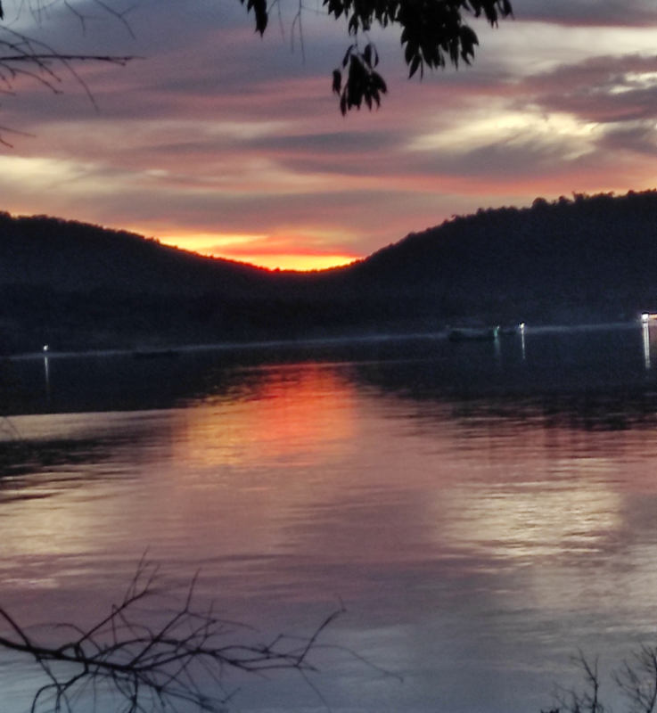 Sunset over Saracen